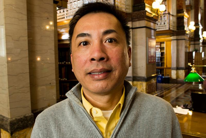 Vinh Nguyen, English Language Learners Program Coordinator for the Des Moines Public Schools