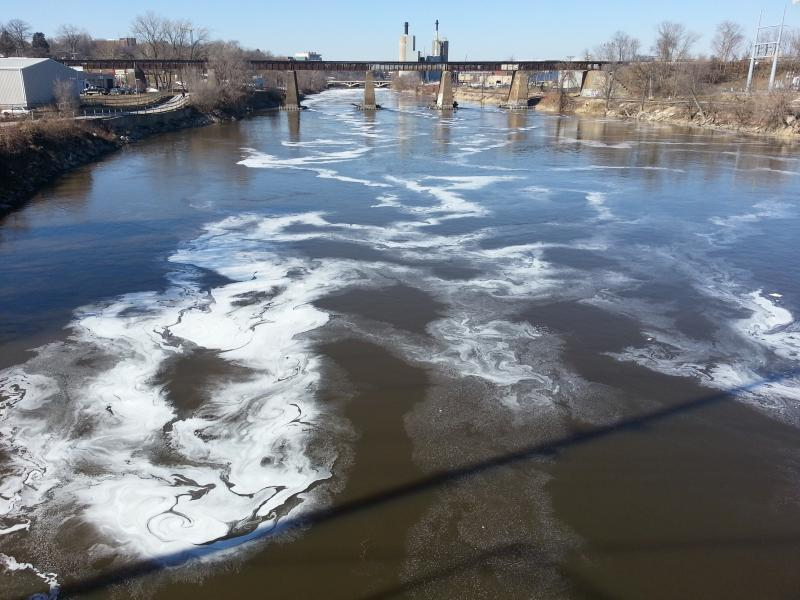 Though Iowa's rivers and streams may look particularly scummy or murky, the DNR says the state's waterways are perfectly fine. The murky appearance is caused by organic matter and is safe.