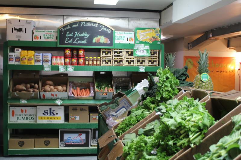 The shop is supported with grant-funding and connects with Good Natured Family Farms, a network of local farmers within 200 miles of Kansas City.
