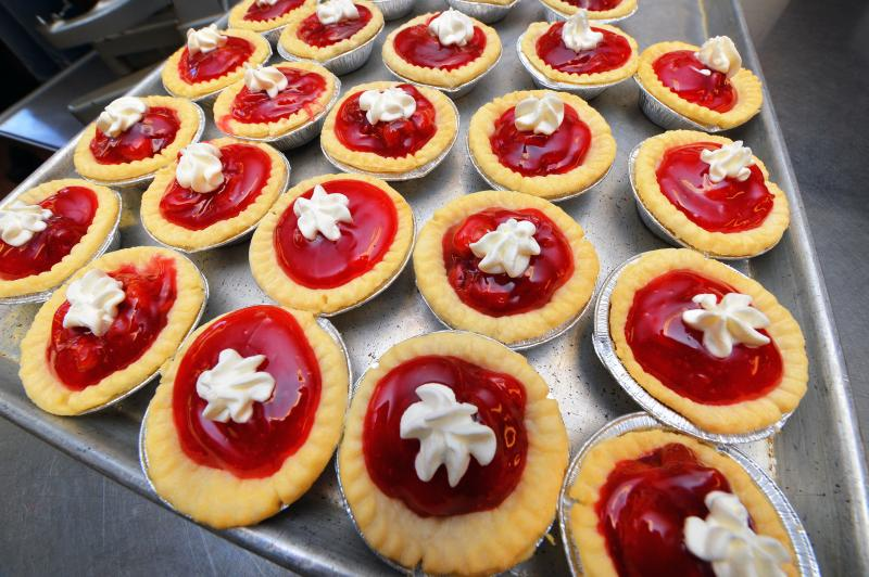 Proceeds from VEISHEA's iconic cherry pies go to HRIM program scholarships.