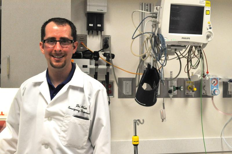 Dr. Joshua Pruitt at St. Luke's Hospital in Cedar Rapids