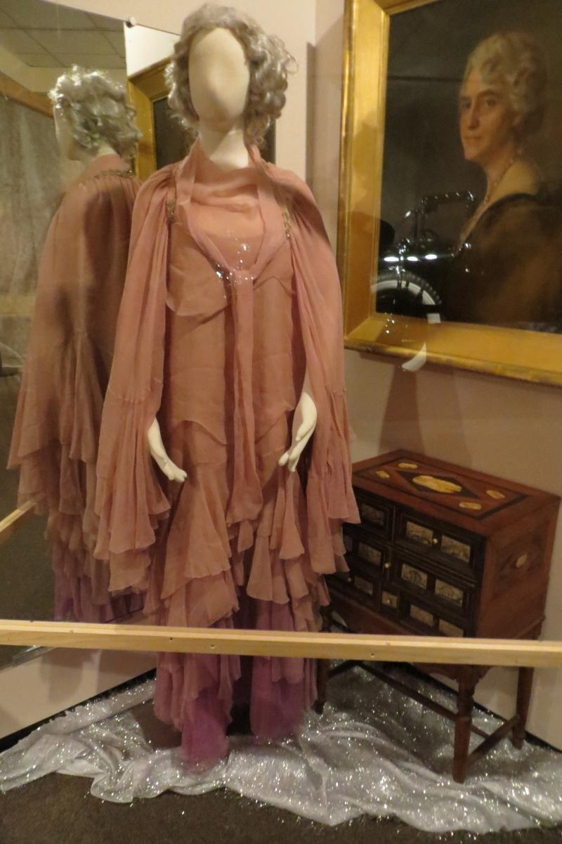 Dress worn by Iowa-born First Lady Lou Henry Hoover.