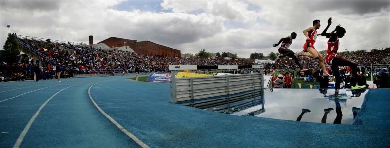 Steeplechase at the Drake Relays