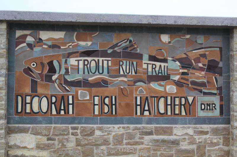 A trout hatchery and recreation trails make the Upper Iowa River appealing to residents and visitors.