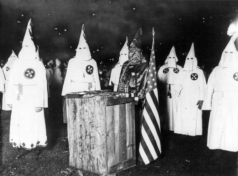 A meeting of nearly 30,000 Ku Klux Klan members from Chicago and northern Illinois