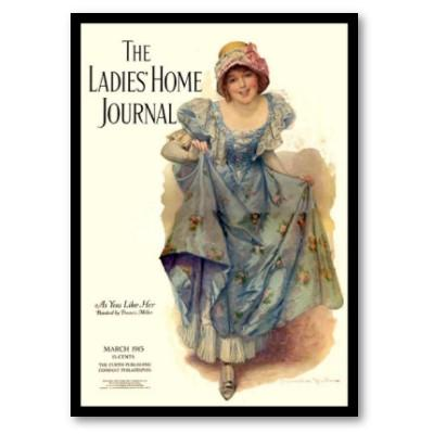 a cover of Ladies Home Journal from the early 1900's