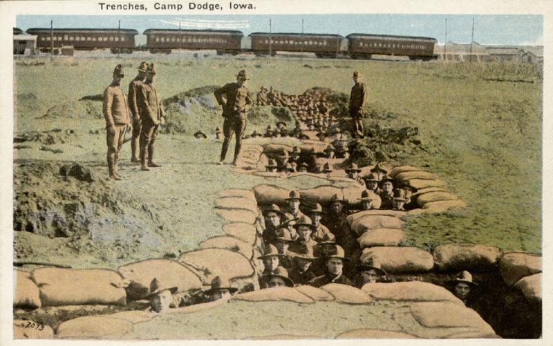Camp Dodge, circa 1917