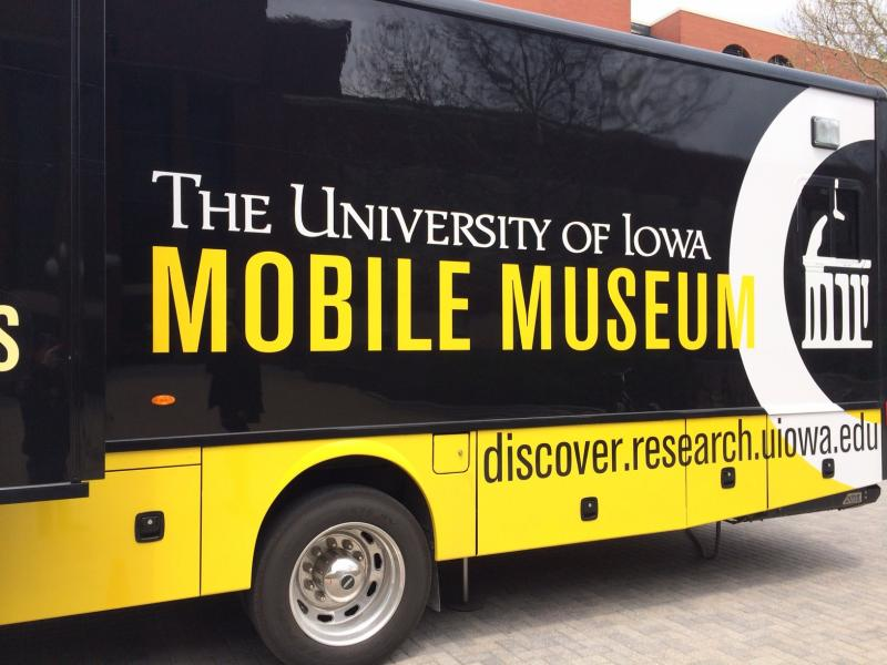 The University of Iowa's new mobile museum