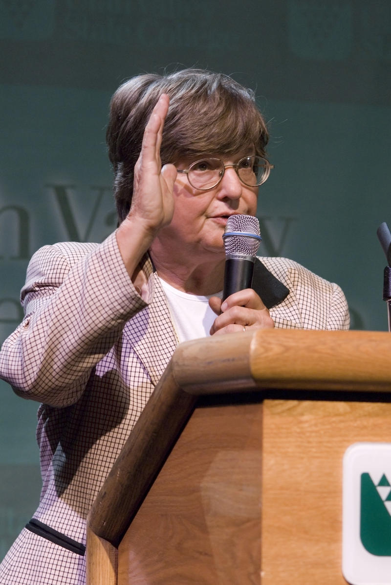 "Sister Helen Prejean, author of ""Dead Man Walking."""