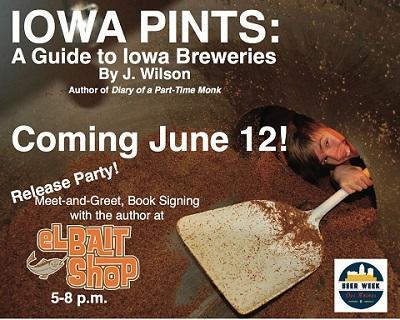 Iowa Pints release party flier