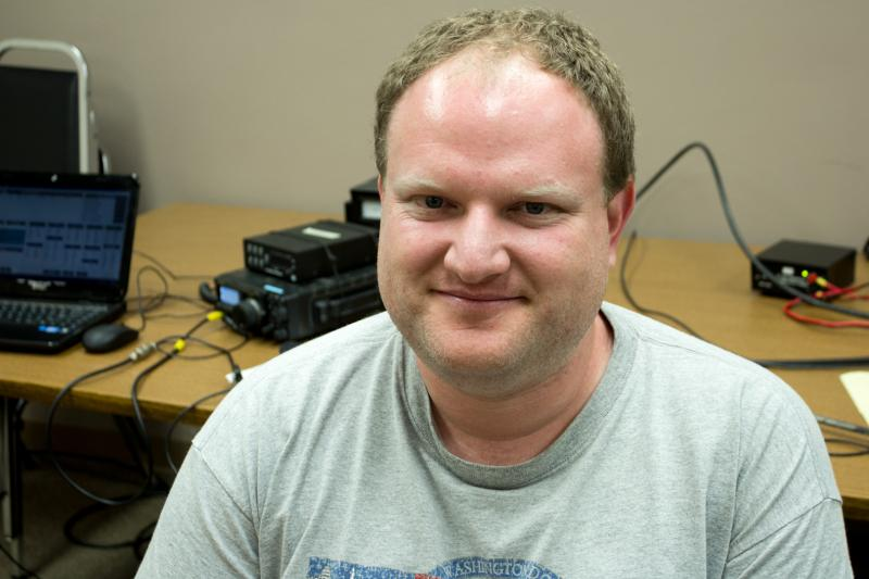 Clint Miller, KC0JUO, is the Emergency Coordinator with the Amateur Radio Emergency Service in Story county. He became interested in amateur radio after learning how it was used during Hurricane Katrina.