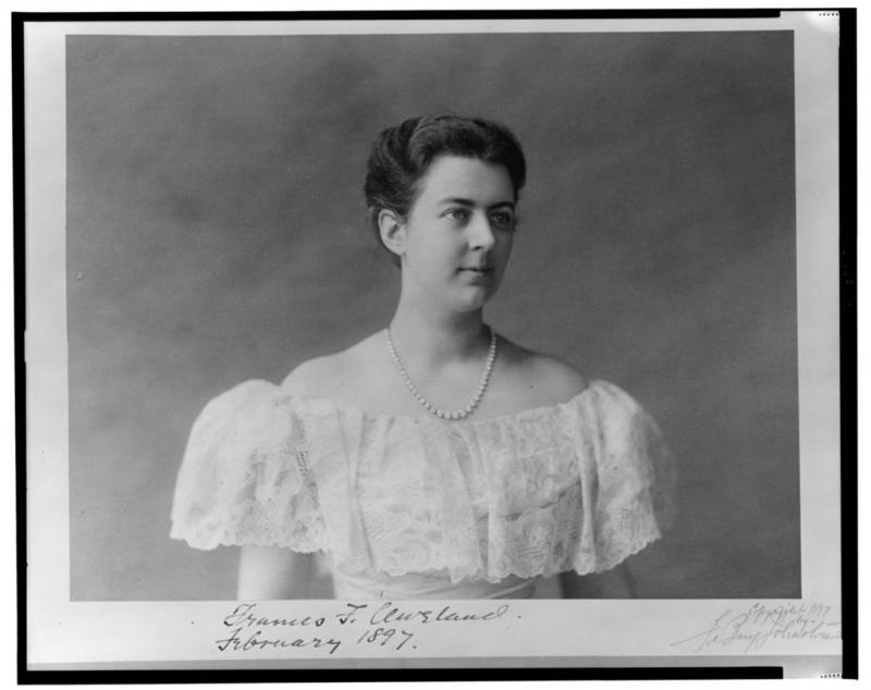 Frances Cleveland was the youngest first lady at the age of 22.