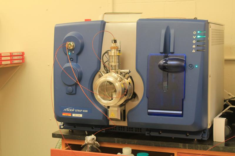 Mass spectrometry is a process that breaks a sample down so that even trace amounts of compounds can be identified.