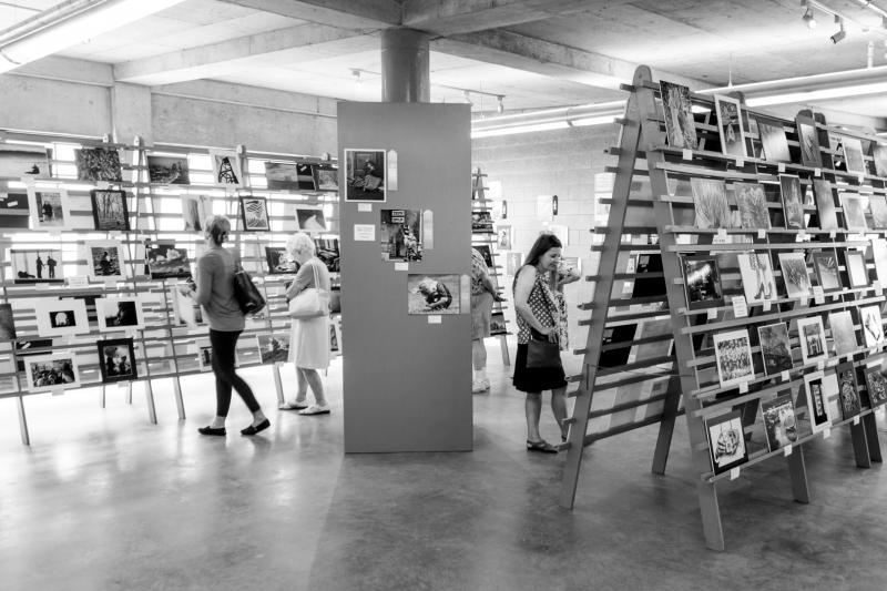 "This year's Photo Solon at the Iowa State Fair has the theme ""Salute to Ansel Adams"", where all pictures are in black and white. Of the 3,874 photos submitted, 841 were selected for display of which nearly a 25% received an award."