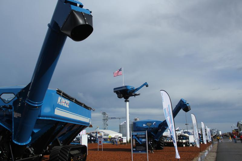 Kinze Manufacturing is featuring its grain carts and planters at the show.