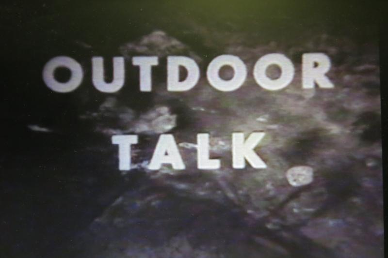 Vintage 1950s, and the nation's first conservation TV show