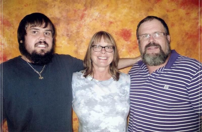 Joan and Dave Becker with their son Mark, who shot Aplington-Parkersburg head football coach Ed Thomas to death 5 years ago.