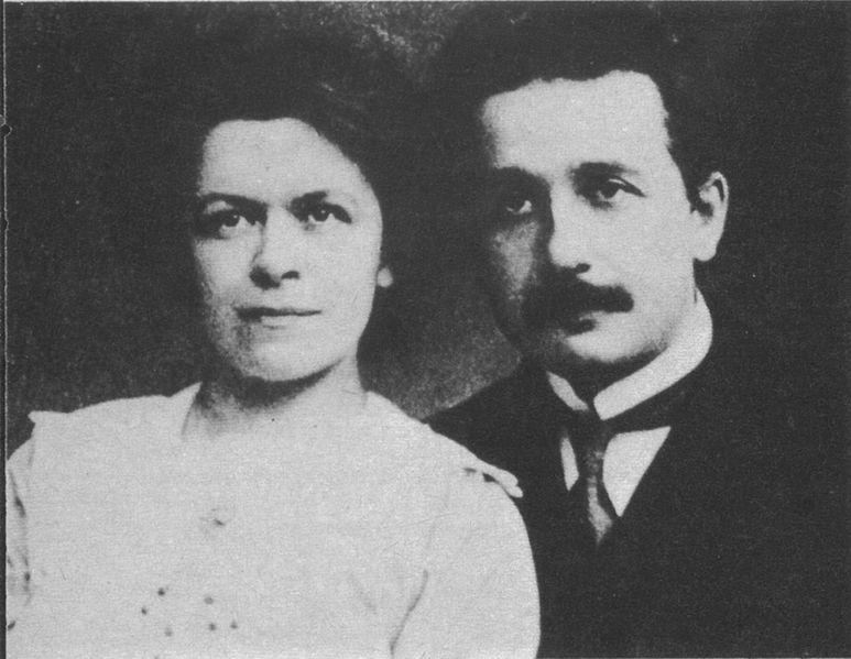 Hans Albert Einstein was the child of Albert Einstein's first marriage to Mileva Maric.