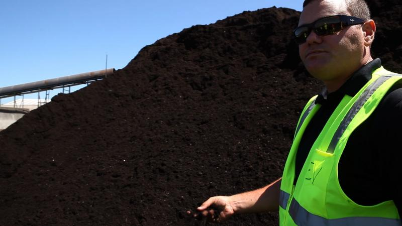 Stephan Banchero is the general manager of Cedar Grover Composting, which handles the curbside compost for the city of Seattle, Wash.