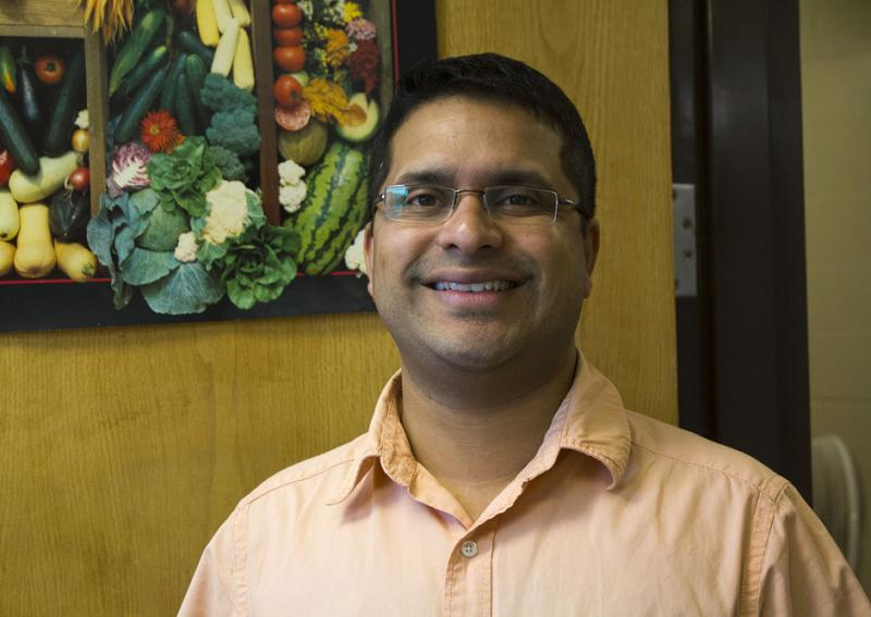 Iowa State horticulture professor Ajay Nair says shortcomings in transportation, refrigeration and pest control are among the reasons much more food is lost on farms in developing countries than in North America and Europe.