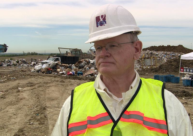 Jack Chappelle sorts through garbage to inform cities and states what goes into their landfills. He sorts through a lot of food.