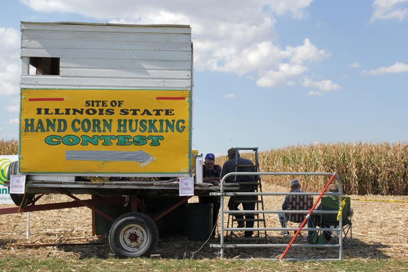 In the 1930s, state corn husking competitions routinely drew crowds in the thousands.