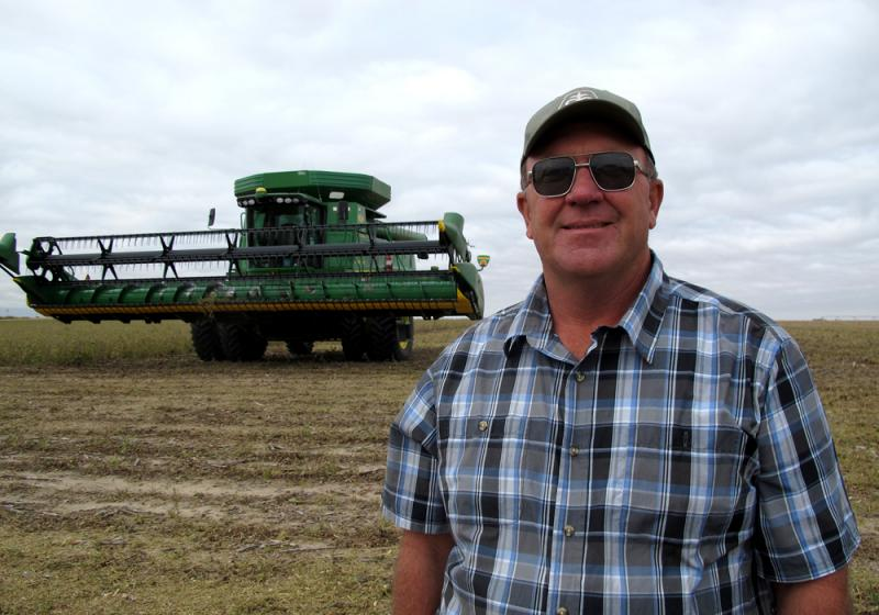 """Farmer Gene Trausch of Minden, Neb., said usually some part of the Corn Belt suffers a weather disaster that hurts yields. Not this time. """"Everybody had a good crop this year,"""" Trausch said."""