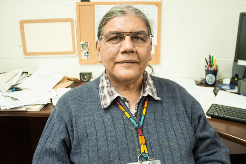 Johnathan Buffalo is the historic preservation director at the Sac & Fox Tribe of the Mississippi in Iowa.