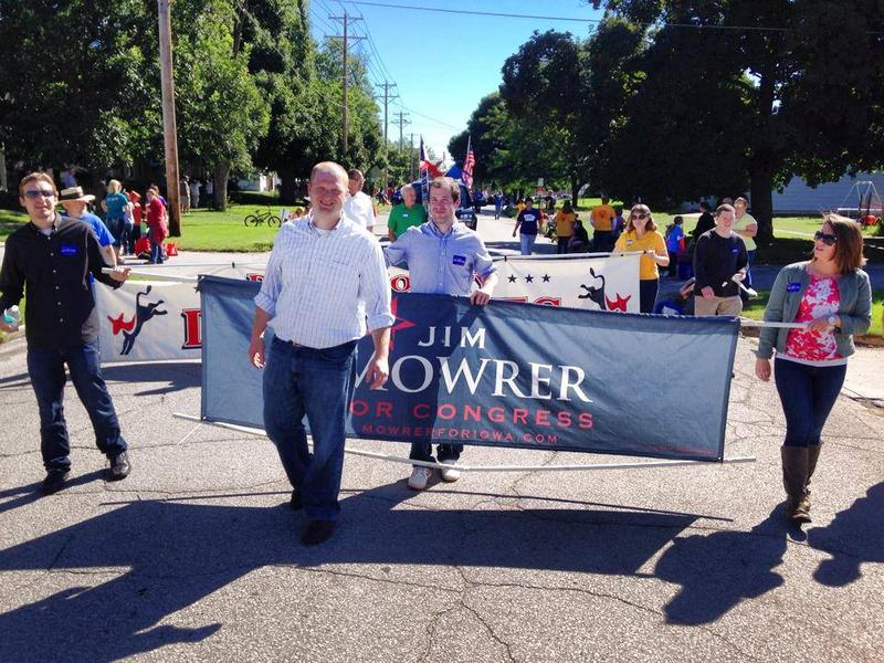 Fourth Districe Congressional Candidate Jim Mowrer
