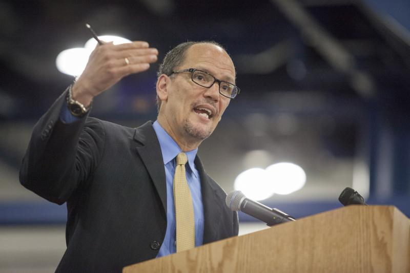 United States Secretary of Labor Thomas Perez