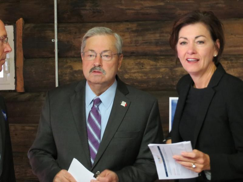 Branstad and Reynolds in Boone