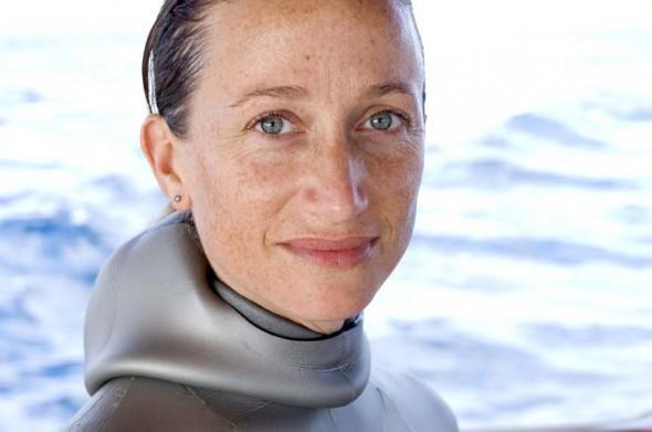 Explorer and Filmmaker Celine Cousteau, granddaughter of Jacques Cousteau