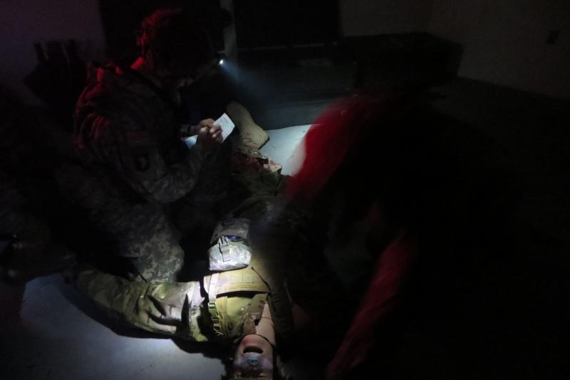 Final exam for Combat Life Savers