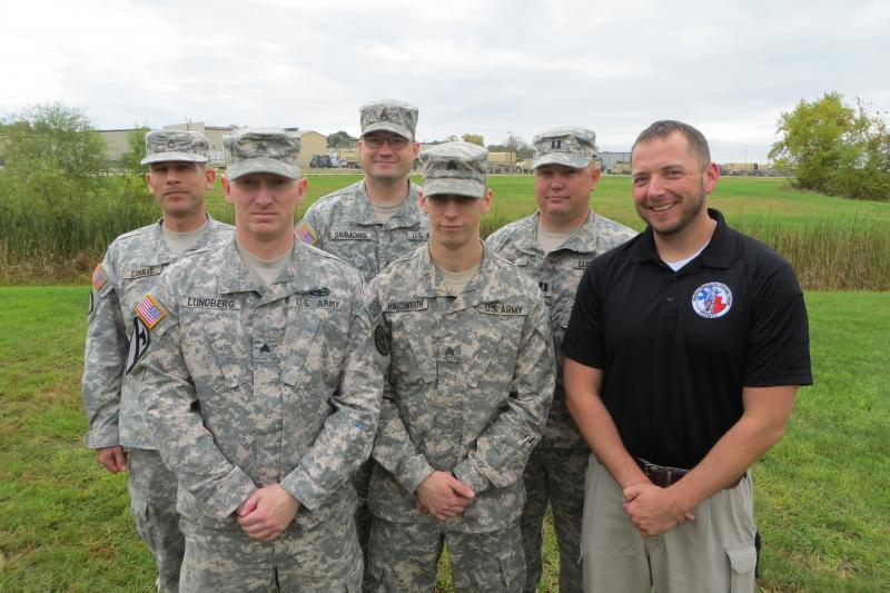 New Combat Life Savers and civilian instructor Mike Thul