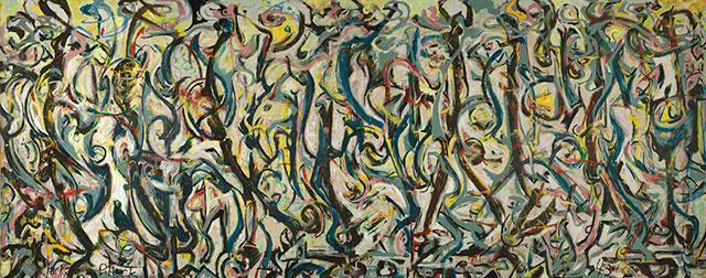 "Jackson Pollock's ""Mural"""