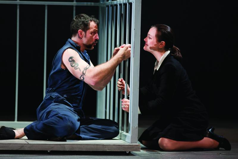 "The Des Moines Metro Opera's production of Jake Heggie's ""Dead Man Walking"""