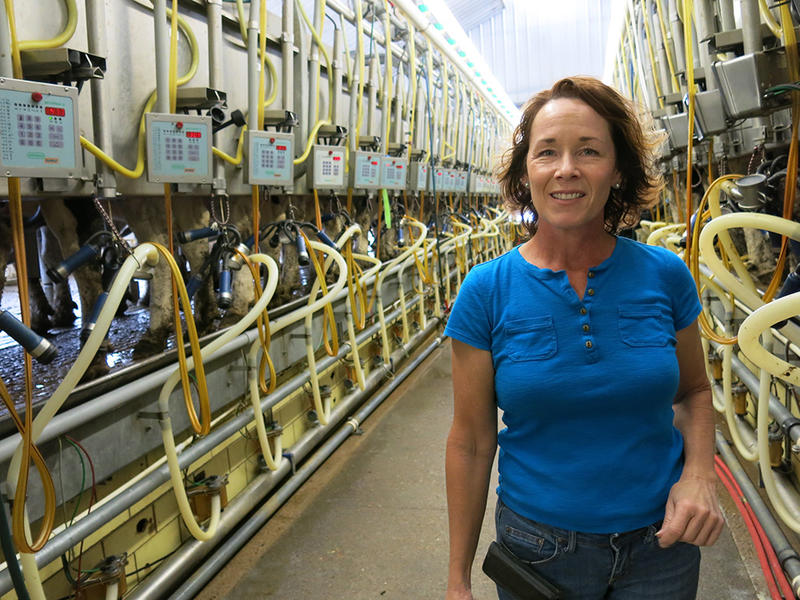 The co-owner of a dairy near Fort Morgan, Colo., Mary Kraft says the skills needed to be a successful farmer have changed in recent years.