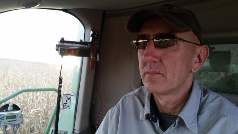 Johnson County farmer, Jim Sladek