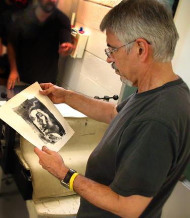 """Artist Gary Kelley, illustrator of """"Harlem Hellfighters."""""""