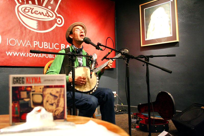 Download the podcast for a full hour with singer, songwriter Greg Klyma.