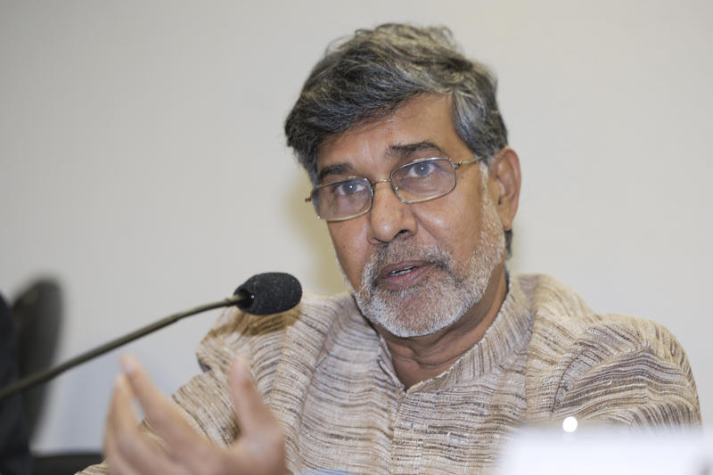 Kailash Satyarthi, children's rights activist and 2014 Nobel Peace Prize laureate.