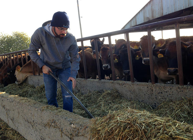 Dairy farmer Brian Azevedo plans to sell his dairy in Merced, Calif., and move to South Dakota.
