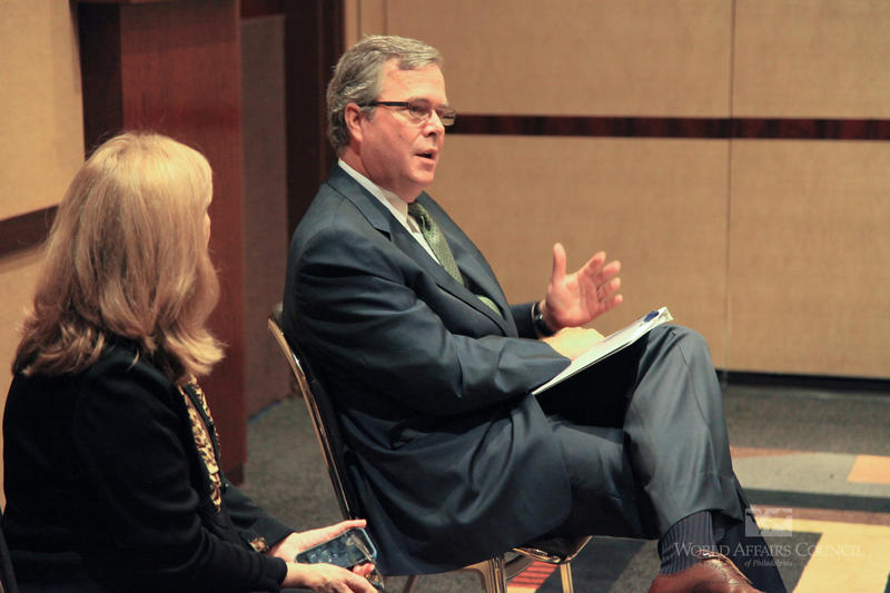 "Jeb Bush announced this week he's ""actively exploring"" a presidential run."