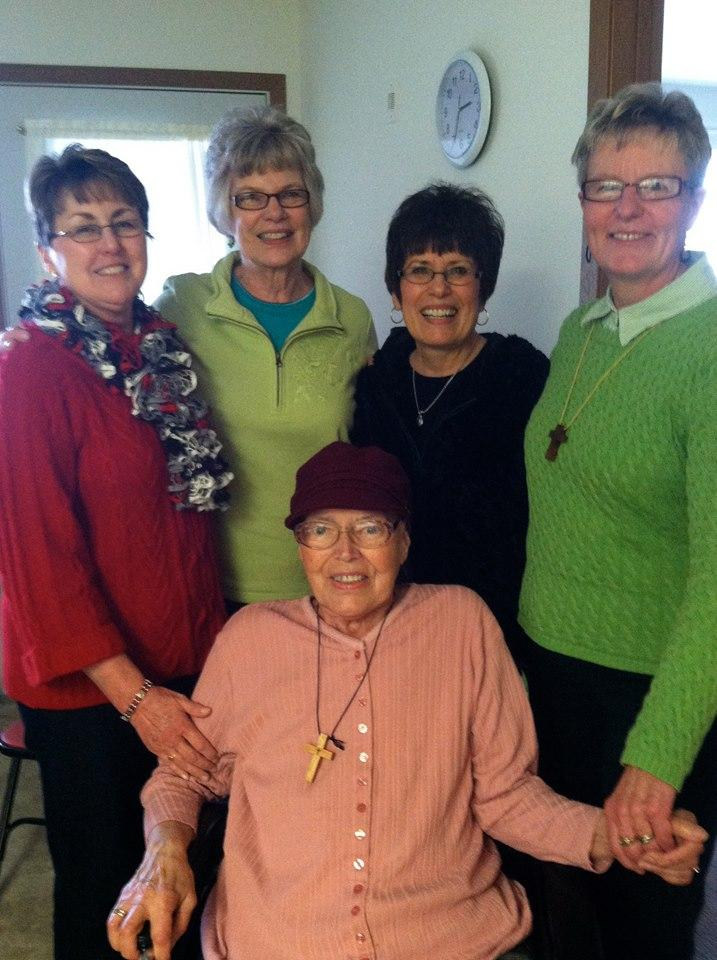 Kathi Anderson's mom's friends.
