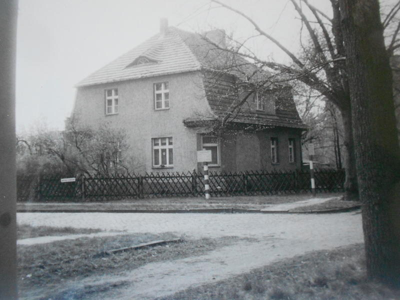 Trebec's childhood home. Signs stood outside reminding her every day that she lived in the restricted area.