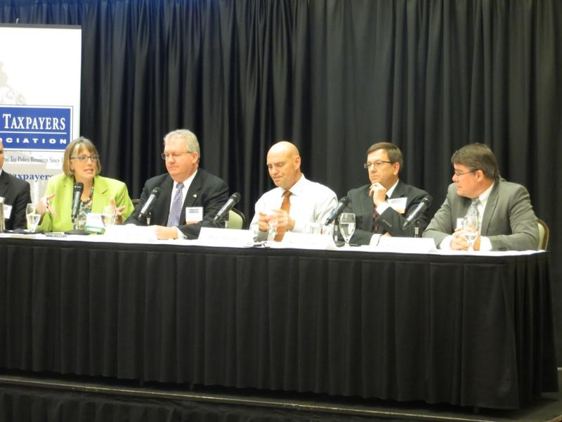 Iowa Taxpayers Association panelists