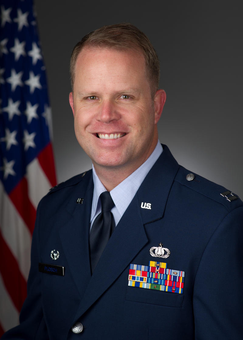 Captain Jason Plosch, Commander and Conductor of the U.S. Air Force Band of Mid-America
