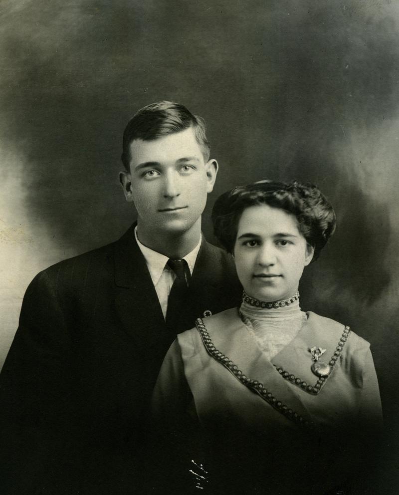 Emily Kidder and her husband Earl