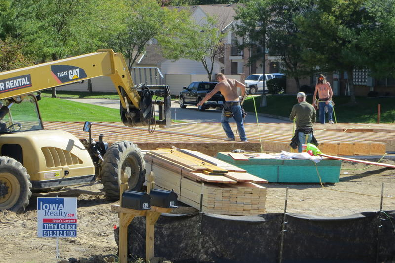 Home builders work year-round