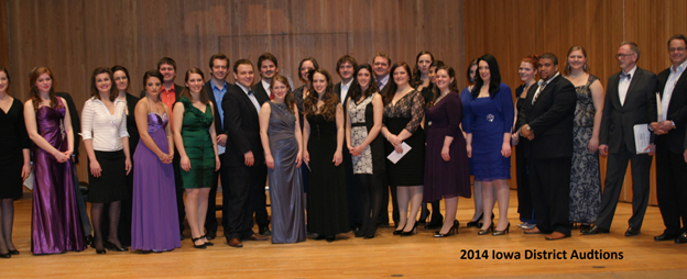 Competitors in the 2014 Metropolitan Opera National Council Auditions